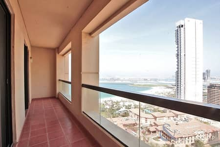 شقة 2 غرفة نوم للايجار في جميرا بيتش ريزيدنس، دبي - Sea and Palm Views   2 Beds   White Goods