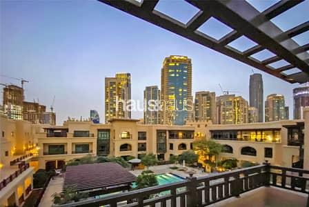 فلیٹ 3 غرف نوم للايجار في المدينة القديمة، دبي - Old Town Specialist | Rare Apartment | Furnished