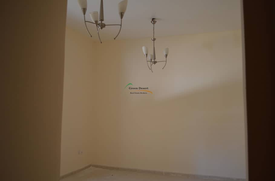 2 Large 1 BHK, Corner, Pool View, Closed living & Ktn, Axis 1