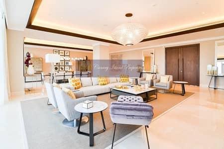 بنتهاوس 5 غرف نوم للبيع في أبراج بحيرات الجميرا، دبي - Fully Furnished Penthouse ! Marina Skyline ! Golf View