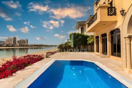 فیلا 4 غرف نوم للبيع في نخلة جميرا، دبي - Viewable Today!   G+2 Atrium   High No.