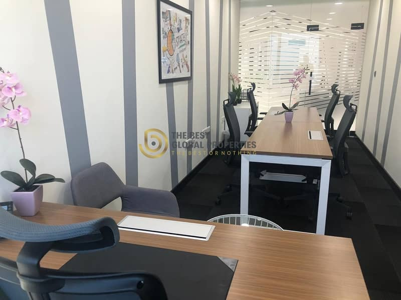 Sheik Zayed Road | Furnished Offices | Metro Access