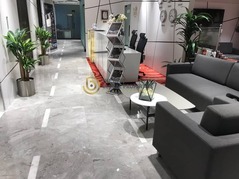 9 Sheik Zayed Road | Furnished Offices | Metro Access