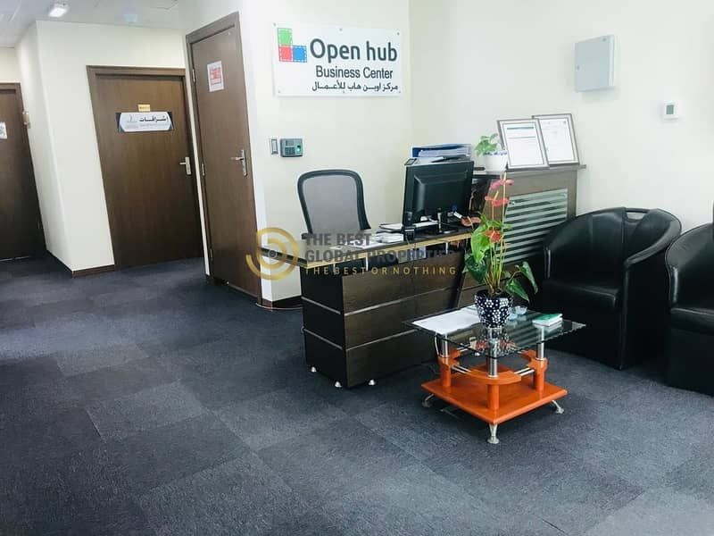 2 Fully Furnished Offices | Near Dubai Airport
