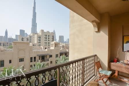 فلیٹ 2 غرفة نوم للبيع في المدينة القديمة، دبي - OT Specialist | 2 + Study | Burj View