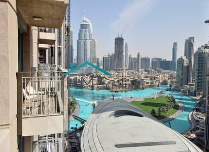 1 Bedroom Flat for Rent in Downtown Dubai, Dubai - Fendi Brand New Furniture | Fountain View