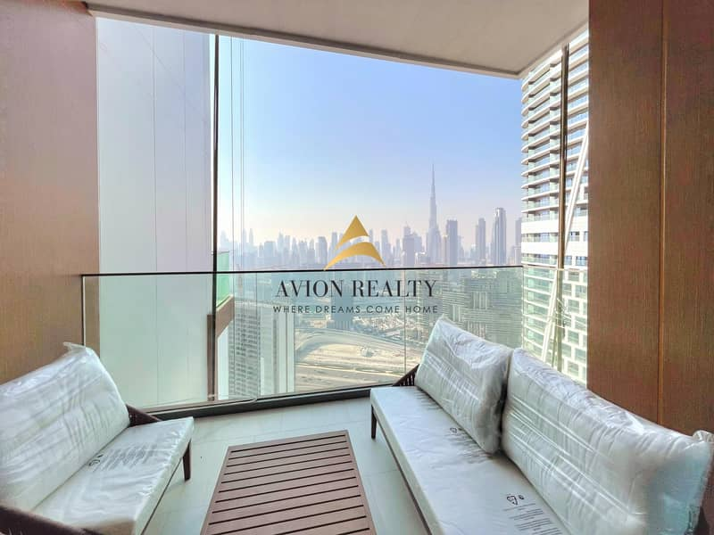 Fully Furnished Brand New 1 BHK in Business Bay