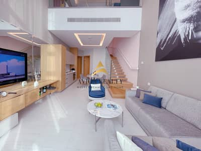 1 Bedroom Flat for Rent in Business Bay, Dubai - Stunning  Furnished Loft Apartment in Business Bay