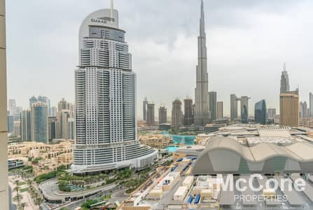 2 Bedroom Flat for Sale in Downtown Dubai, Dubai - Luxurious Finish | Stunning Burj Khalifa Views