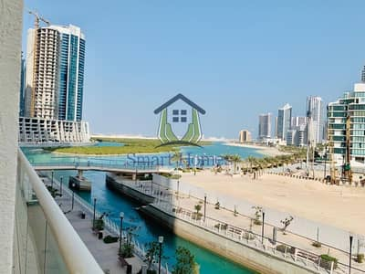 3 Bedroom Penthouse for Rent in Al Reem Island, Abu Dhabi - Closed Kitchen with Kitchen Appliance   Canal View