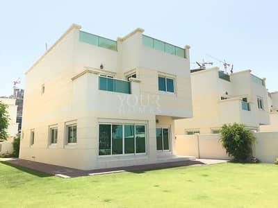 4 Bedroom Villa for Sale in Jumeirah Village Circle (JVC), Dubai - WA | Park view  4Bed + M