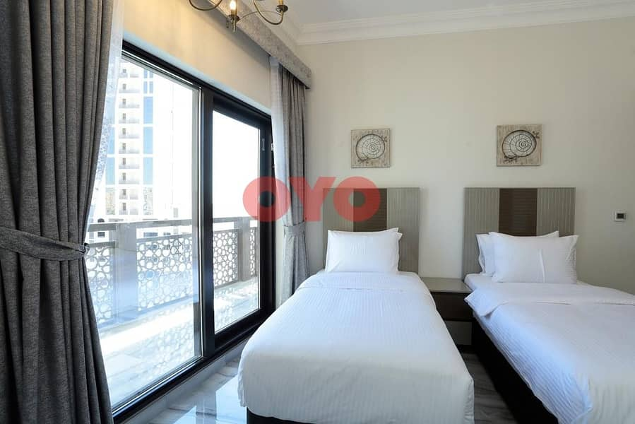 2 7499 Monthly 2BHK | Fully Furnished | Free  DEWA/ Wifi | No Commission
