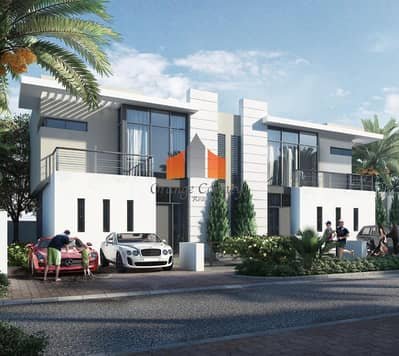 3 Bedroom Townhouse for Sale in DAMAC Hills (Akoya by DAMAC), Dubai - Damac hills Full golf view| Book Now to grab your unit!