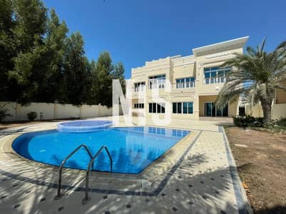 4 Bedroom Villa for Rent in Marina Village, Abu Dhabi - Spacious and Luxury Villa |  Private Swimming Pool