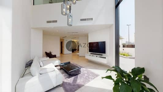 4 Bedroom Townhouse for Sale in Jumeirah Village Circle (JVC), Dubai - Private Pool|Fitted Kitchen|With Maid|Corner Unit