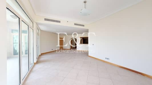 3 Bedroom Flat for Rent in Palm Jumeirah, Dubai - Mid Floor |Type A |Beach Gym Pool |Unfurnished PJ