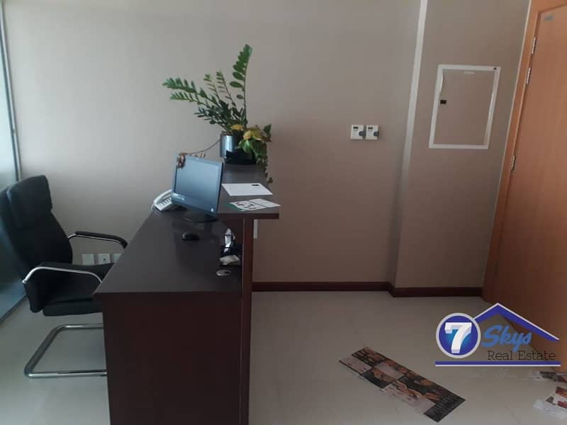 2 Furnished Office With Pantery & Washroom In Citadel Tower