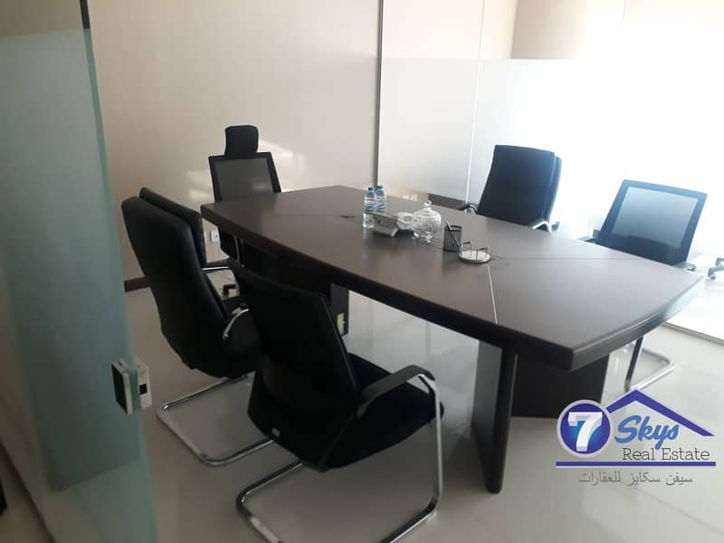 Furnished Office With Pantery & Washroom In Citadel Tower