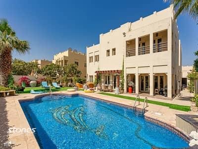 4 Bedroom Villa for Sale in The Meadows, Dubai - Astonishing Full Lake View   Hattan E2   Extended