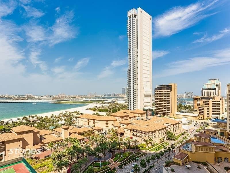 Exclusive 4Bedroom + maids duplex |full sea view