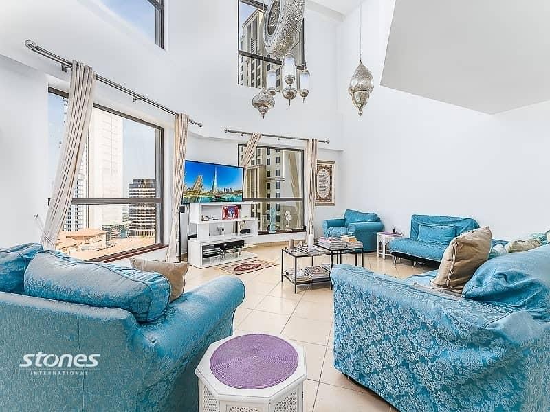 2 Exclusive 4Bedroom + maids duplex |full sea view