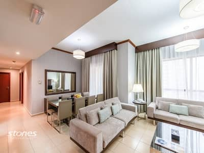 3 Bedroom Flat for Rent in Jumeirah Beach Residence (JBR), Dubai - All Bills Included | Serviced Apartments | JBR