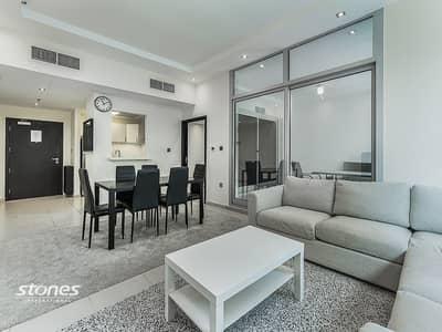 شقة 2 غرفة نوم للايجار في دبي مارينا، دبي - Spacious Layout Modern Furnishing 2BR With Study