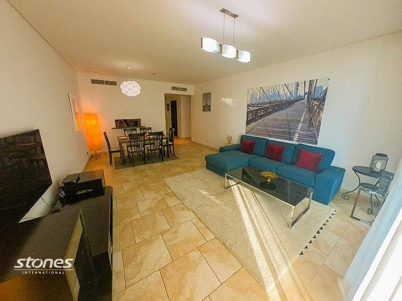 Furnished Apartment   Sea View   Spacious Balcony