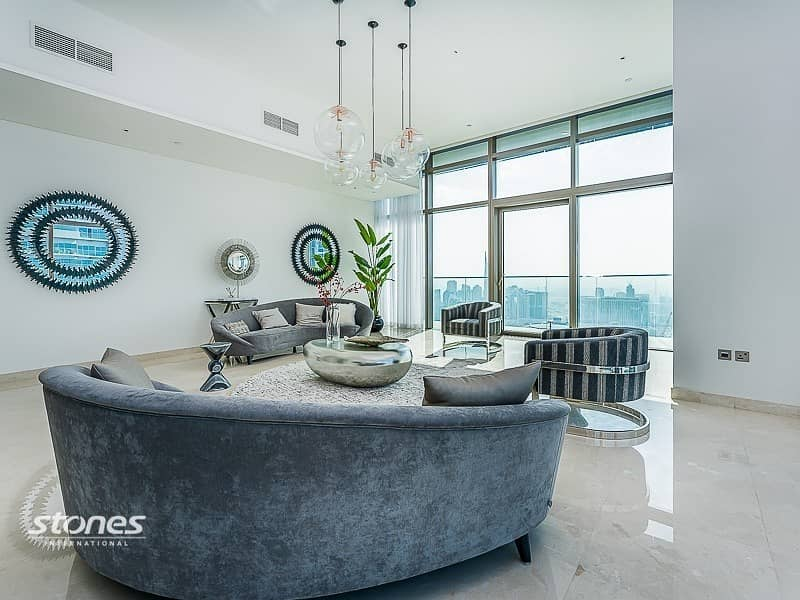 2 Magnificent 4BR Penthouse with Full Marina View