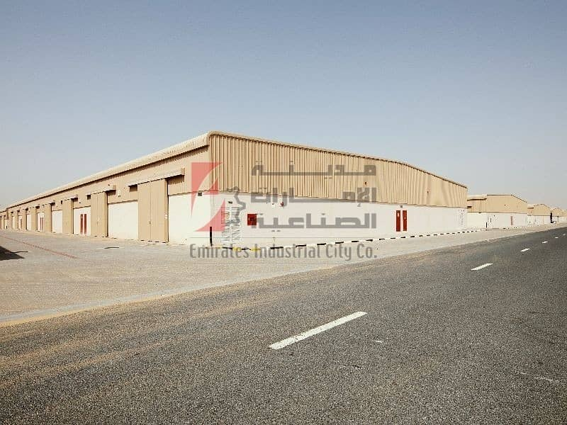 2 Month Free Only 20 AED/sq.ft - Direct from the Owner  - Brand-new Warehouse