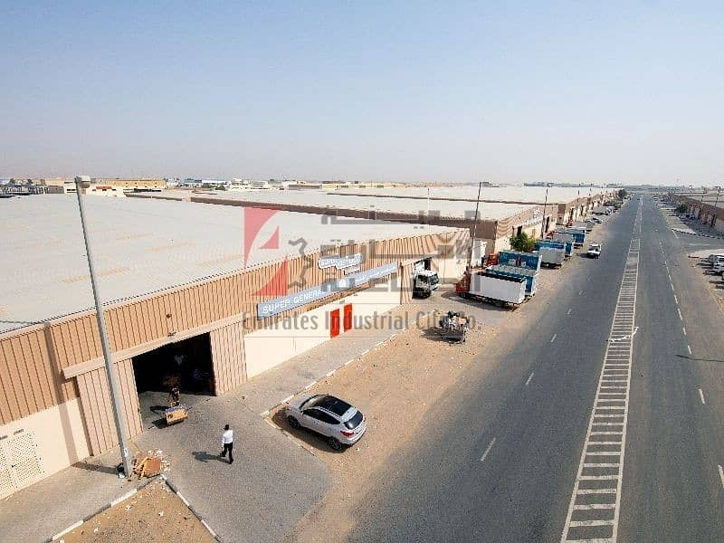 11 2 Month Free Only 20 AED/sq.ft - Direct from the Owner  - Brand-new Warehouse