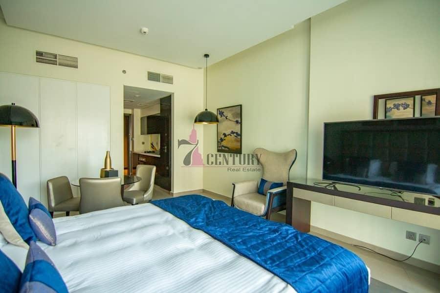 2 Furnished   Exclusive Studio Apartment   High Floor