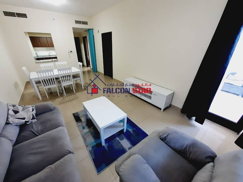 2 LIVE WITH LUXURY | BEST LAYOUT FURNISHED ONE BED WITH GARDEN VIEW