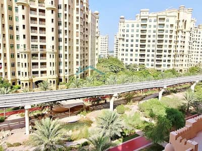 3 Bedroom Apartment for Rent in Palm Jumeirah, Dubai - Golden Mile 9 | Park View | 3 B / R