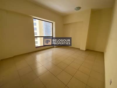 3 Bedroom Flat for Rent in Jumeirah Beach Residence (JBR), Dubai - Spacious 3BR w/Maid| Unfurnished| Well maintained