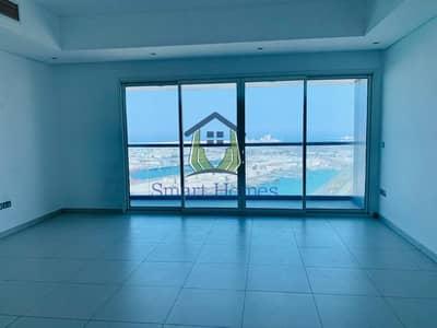 شقة 3 غرف نوم للايجار في منطقة الكورنيش، أبوظبي - Sea View | Balcony | Closed Kitchen