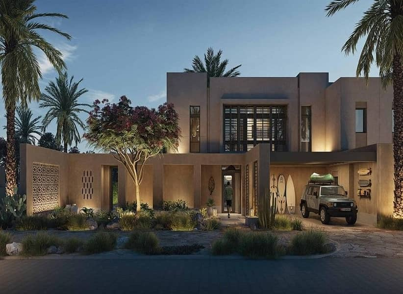 2 3 BR Villa With Sea Views  In AlJurf Gardens   With a 7-year Payment Plan