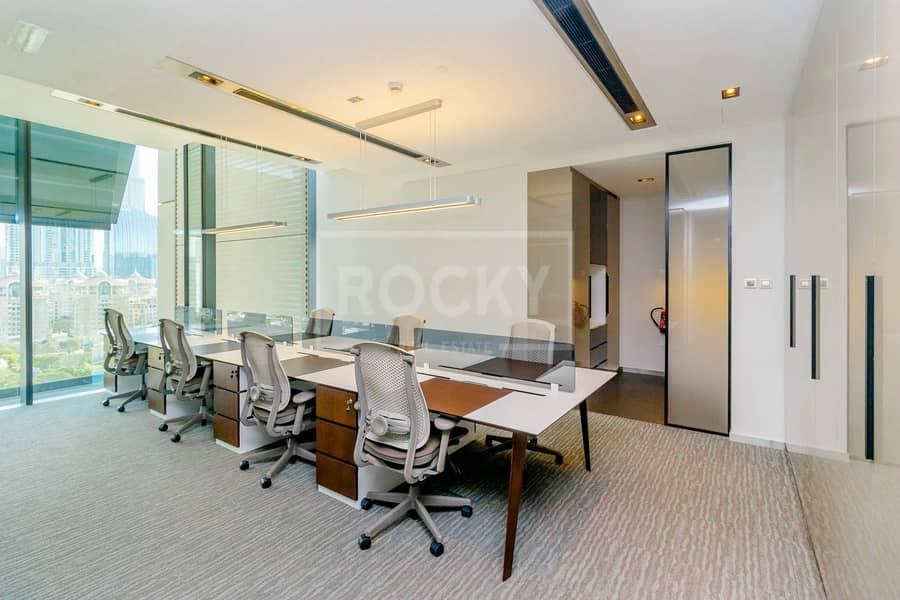 No Commission   Furnished Office   Burj Khalifa View   DIFC