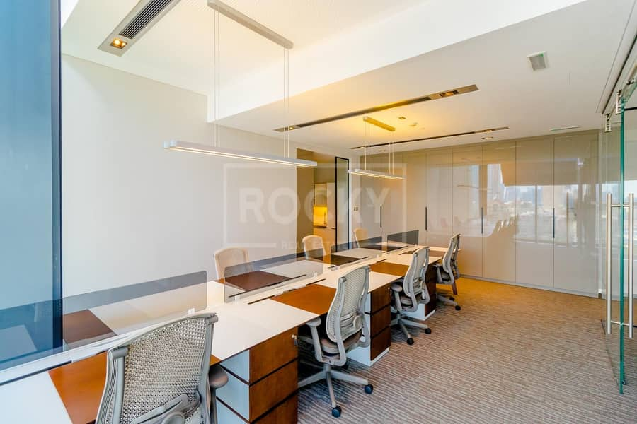 2 No Commission   Furnished Office   Burj Khalifa View   DIFC
