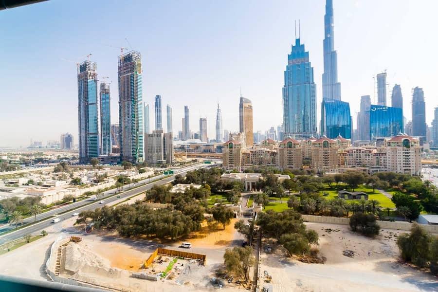 13 No Commission   Furnished Office   Burj Khalifa View   DIFC