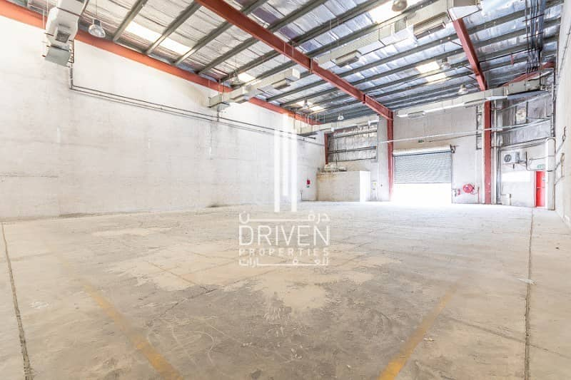 13 Well-manage Warehouse with Office in DIP