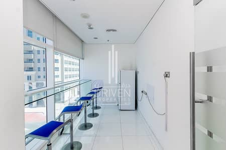 Office for Rent in Jumeirah Lake Towers (JLT), Dubai - For Rent Fitted Office l Reef Tower