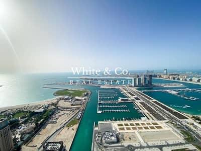 3 Bedroom Penthouse for Rent in Dubai Marina, Dubai - INCREDIBLE HALF FLOOR PENTHOUSE | SEA VEIWS