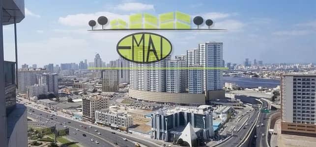 شقة 1 غرفة نوم للايجار في عجمان وسط المدينة، عجمان - شقة في أبراج لؤلؤة عجمان عجمان وسط المدينة 1 غرف 18000 درهم - 4714032