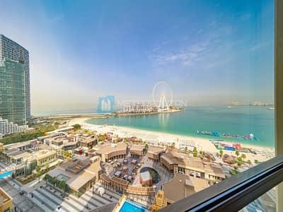 3 Bedroom Flat for Sale in Jumeirah Beach Residence (JBR), Dubai - 3BR w/ Maid | Sea and Dubai Eye view | High Floor
