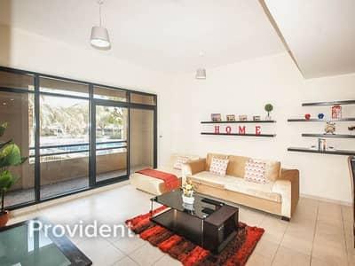 شقة 3 غرف نوم للبيع في ذا فيوز، دبي - Pool View   Rented   Spacious Terrace