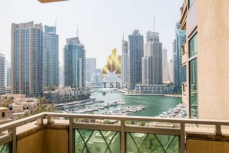 3 Bedroom Flat for Sale in Dubai Marina, Dubai - Marina and Golf View | 3Br+M | Fairooz