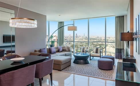 2 Bedroom Apartment for Rent in Sheikh Zayed Road, Dubai - Furnished / Bills Included / Maid service