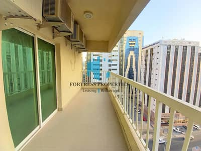 فلیٹ 3 غرف نوم للايجار في منطقة النادي السياحي، أبوظبي - Family Sharing or Staff Accommodation I 3BHK I Balcony