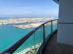 Luxury | Full Sea view | Maids & Balcony